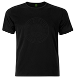 Beatles (THE) - Sgt Pepper Drum Black On Black (T-SHIRT Unisex )