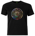 Beatles (THE) - Sgt Pepper Drum Black (T-SHIRT Unisex )