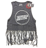 5 Seconds Of Summer - Derping Stamp Vintage With Tassels (canotta Donna TG. 2)