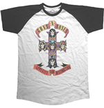 Guns N' Roses - Appetite For Destruction Raglan (T-SHIRT Unisex )