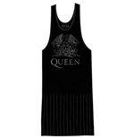 Queen - Crest Vintage With Tassels (vestito Donna )