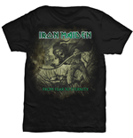 T-shirt Iron Maiden da uomo - Design: From Fear To Eternity Distressed