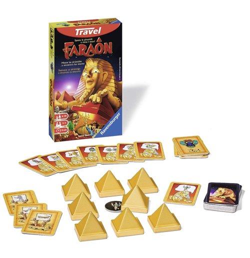 Acquista ravensburger 23431 faraon edizione da viaggio originale - Faraon gioco da tavolo ...