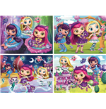 Ravensburger 06886 - Puzzle 4 In A Box - Little Charmers