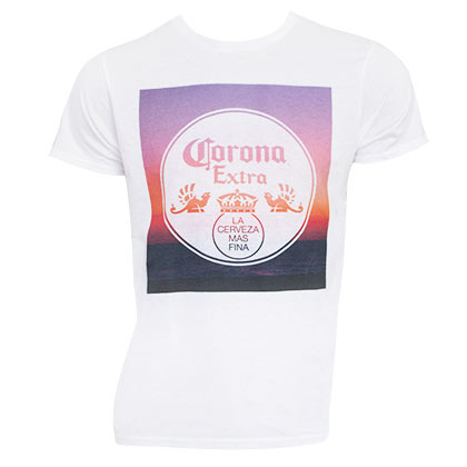 T-shirt Corona Sunset