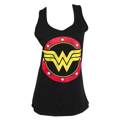 fa48e1adabf71 Canotta Wonder Woman Racerback da donna