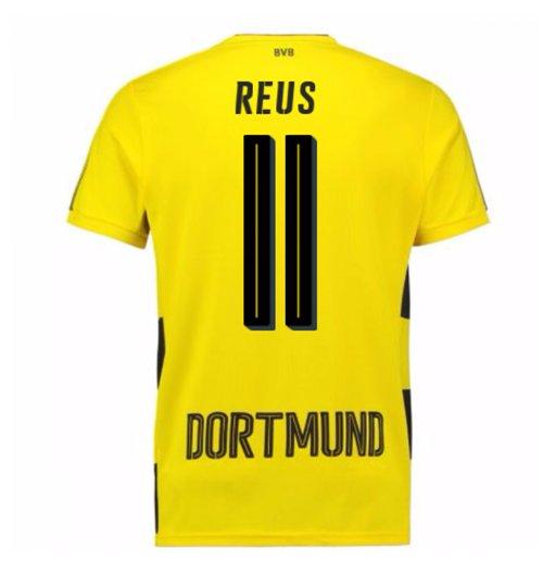 Maglia Borussia Dortmund 2017-2018 Home (Reus 11) da bambino