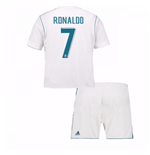 Divisa Real Madrid 2017-2018 Home (Ronaldo 7) da bambino