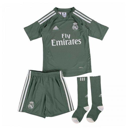 Divisa portiere Real Madrid 2017-2018 Home da bambino