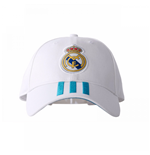Cappellino Real Madrid 2017-2018 (Bianco)