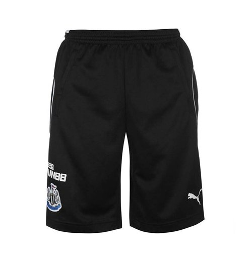 Pantaloncini Short Newcastle Falcons 2017-2018 (Nero)