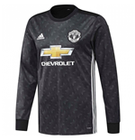 Maglia Manica Lunga Manchester United 2017-2018 Away