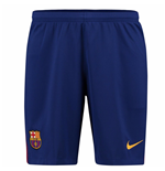 Shorts Barcellona 2017-2018 Home (Blu)