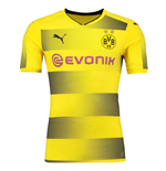 Maglia Borussia Dortmund 2017-2018 Home Authentic