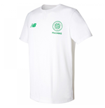 T-shirt Celtic Football Club 2017-2018 (Bianco)