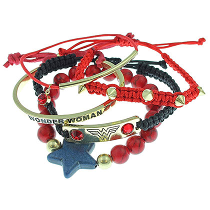 Set Braccialetti Wonder Woman