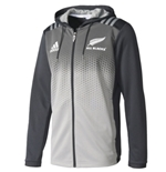 All Blacks Felpa Cappuccio Tecnica FULL-ZIP