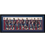 Barcelona - Players 16/17 (Stampa In Cornice 75x30 Cm)