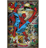 Marvel Comics - Spider-Man Retro (Poster Maxi 61X91,5 Cm)