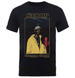 T-shirt Snoop Dogg da uomo - Design: Microphone