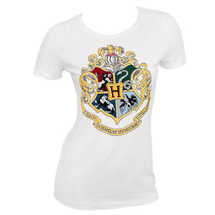 T-shirt Harry Potter Hogwarts da donna