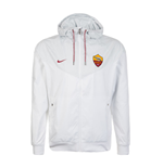 Giacca Roma 2017-2018 Nike Authentic (Bianco)