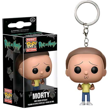 Portachiavi Rick and Morty Funko Pop