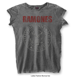 T-shirt Ramones Presidential Seal with Burn Out Finishing