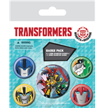 Transformers Robots In Disguise (Faces) (Badge Pack)