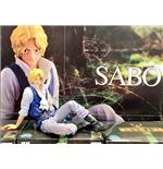 One Piece - Figure Colosseum Scultures Big Special Sabo (Plastica 12 Cm.)