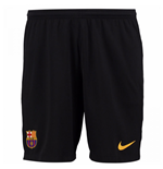Pantaloncini Short Barcellona 2017-2018 Home (Nero)