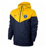 Giacca Paris Saint-Germain 2017-2018 (Giallo)