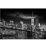 New York - Freedom Tower B&W (Poster Maxi 61x91,5 Cm)