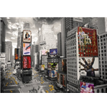 New York - Times Square Ariel (Poster Giant 100x140 Cm)