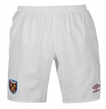 Pantaloncini Short West Ham United 2017-2018 Home (Bianco)