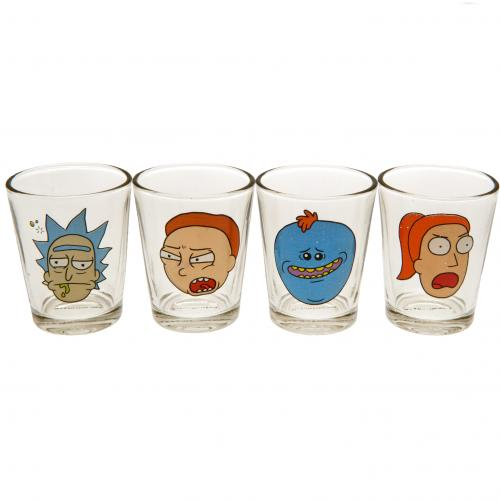 Set Bicchierini da shot Rick and Morty