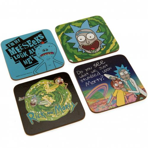 Set Sottobicchieri Rick and Morty