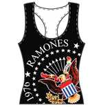 Canotta Ramones da donna - Design: 40th Anniversary Seal
