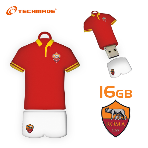 Techmade Pendrive Ufficiale As Roma 16GB