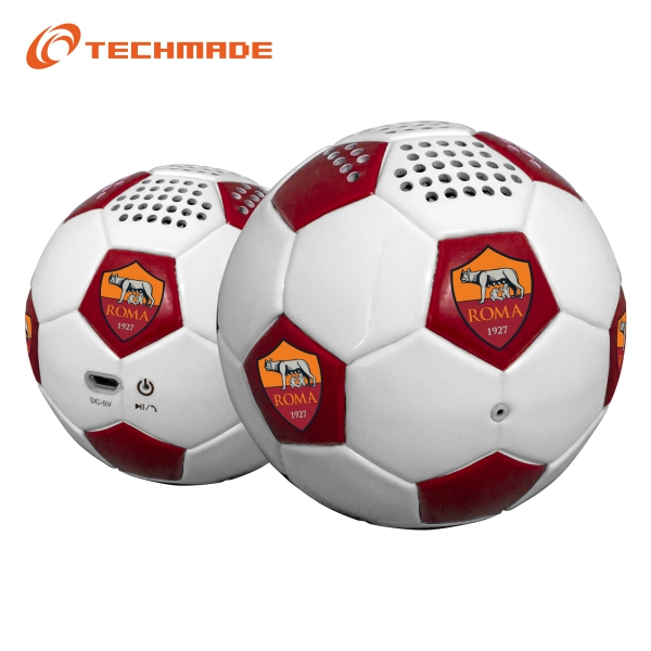 Techmade Football Speaker As Roma