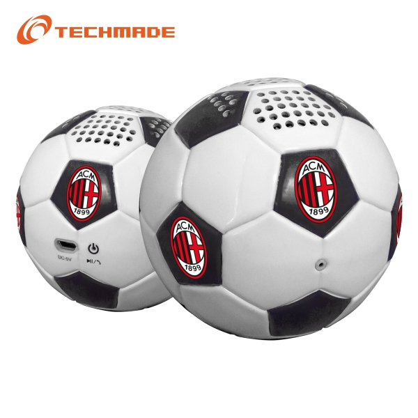 Techmade Football Speaker Ac Milan