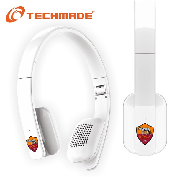Techmade Cuffie Bluetooth As Roma