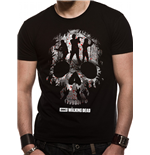 Walking Dead (THE) - Trio Skull Silhouette (T-SHIRT Unisex )