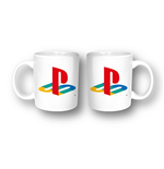 Playstation - Logo White (Tazza)