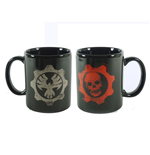 Gears Of War - Logo Black (Tazza)
