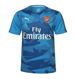 T-shirt Arsenal 2017-2018 (Blu)