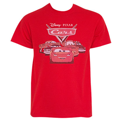 T-shirt Cars da uomo