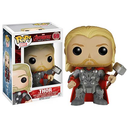 Pupazzo Thor Funko Pop Bobble Head