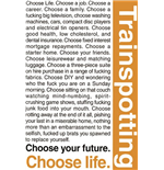 Trainspotting - Quotes 1 (Poster Maxi 61x91,5 Cm)