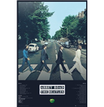 Beatles (The) - Abbey Road Tracks (Poster Maxi 61x91,5 Cm)
